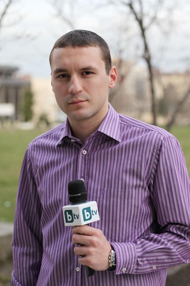 Петър Нанев, репортер в bTV