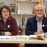 Изпит за кандидат-президенти: Татяна Дончева и Минчо Спасов