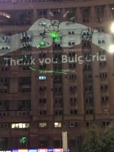 Thank you Bulgaria